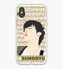 FANART INFINTE Sunggyu iPhone Case