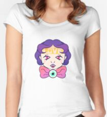 cutie pie Women's Fitted Scoop T-Shirt