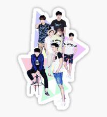 Monsta X Sticker