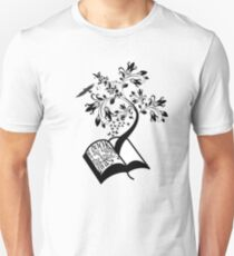 A Book A Day Keeps The Reality Away - Typography T-Shirt