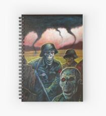 zombie troopers Spiral Notebook
