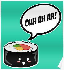 Sushi OUH AH AH! Poster