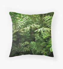 Heart of the Rain Forest (Costa Rica) Throw Pillow