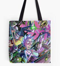Rick and Morty Tote Bag