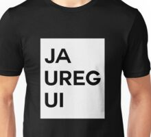 Jauregui white box Unisex T-Shirt