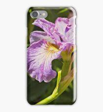 Iris at Butchart Gardens iPhone Case/Skin