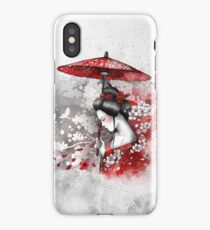 Falling blossoms iPhone Case/Skin