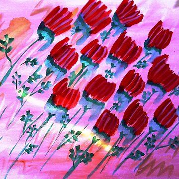 ...broken roses...art by Jutta Gabriel... von healingcolors
