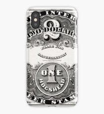 American Beer stamp - vintage iPhone Case/Skin