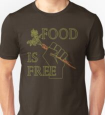 Food is Free Fist of Solidarity  T-Shirt