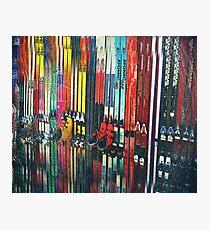 Ski Sun Valley Photographic Print