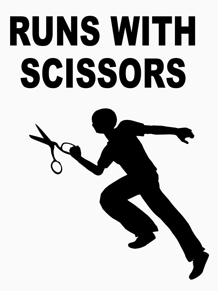 Runs with scissors by fotokatt