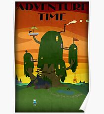 The Tree house - Adventure Time Poster