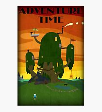 The Tree house - Adventure Time Photographic Print