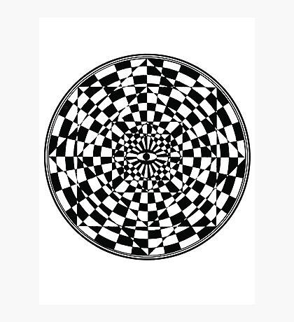Optical Illusion I Photographic Print