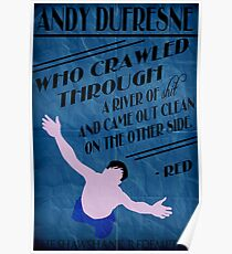 Andy Dufresne - The Shawshank Redemption Poster