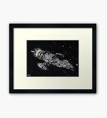 Firefly Serenity Space Ship! Framed Print