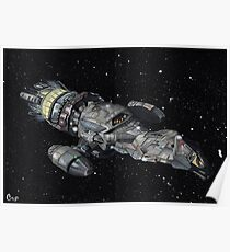 Firefly Serenity Space Ship! Poster