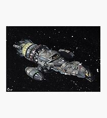 Firefly Serenity Space Ship! Photographic Print