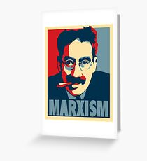 Groucho Marx-ism Greeting Card