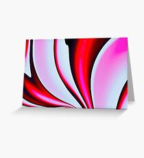 Abstract Fractal Colorways 02BPk Greeting Card