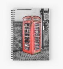Old Kiosk Spiral Notebook