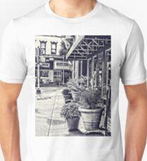 Along the sidewalk Unisex T-Shirt