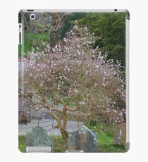 Soft Magnolia blooms compliment the Gravestones... iPad Case/Skin