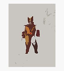 Wolverine Brown & Tan Photographic Print