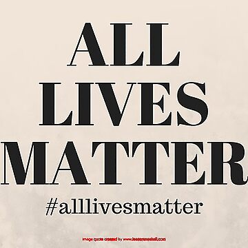 all lives matter by TechnoHill777
