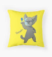 PURRSONA! Throw Pillow