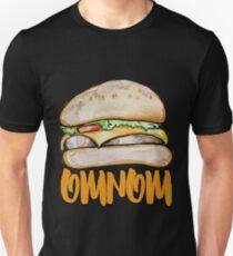 omnom cheeseburger Unisex T-Shirt