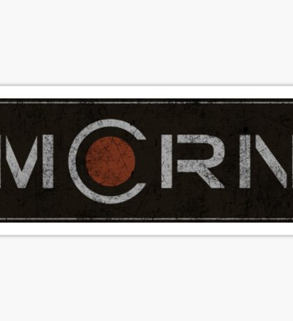 The Expanse - MCRN Logo - Dirty Sticker