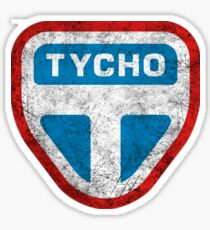 The Expanse - Tycho Logo - Dirty Sticker