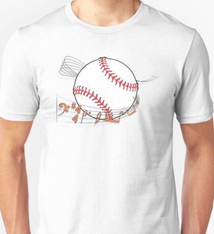 Baseball Sheet Music T-Shirt