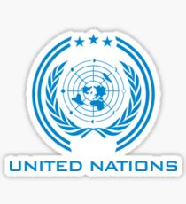 The Expanse - United Nations Logo - Clean Sticker