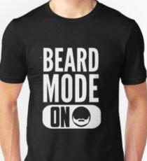 Beard Mode On T-Shirt