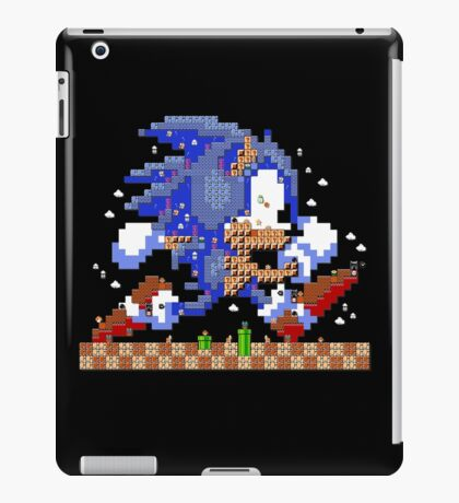 Super Sonic Maker iPad Case/Skin