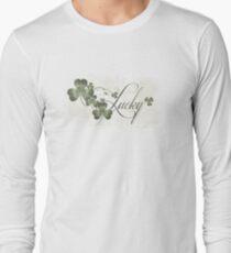 Lucky Shamrocks Long Sleeve T-Shirt