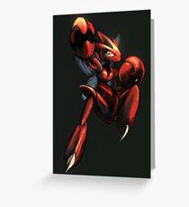 Bullet Mantis Greeting Card