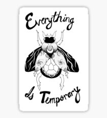 Existential Beetle Sticker