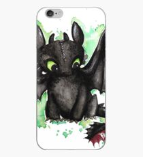 Toothless Watercolor iPhone Case