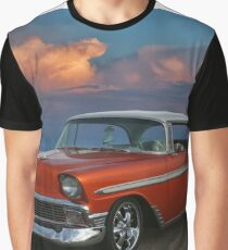 1956 Chevy Belair HDR Graphic T-Shirt