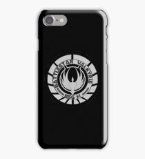 Battlestar Valkyrie Logo iPhone Case/Skin