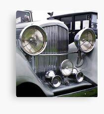 1935 3.5 Litre DERBY BENTLEY CLASSIC CAR Canvas Print