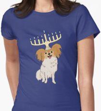 Camiseta entallada para mujer Perro judío