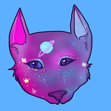space catto! by evergreeneke