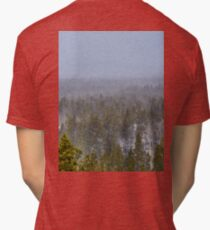 Peak to Peak Highway Snowstorm Study 1  Tri-blend T-Shirt