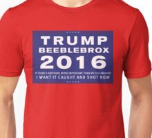 Trump/Beeblebrox Ticket 2016 Unisex T-Shirt