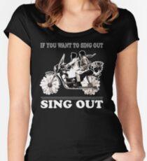 MAUDE Women's Fitted Scoop T-Shirt